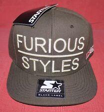 Starter FURIOUS stili-Boyz N the Hood Marrone Cappellino Cappello-NUOVO-RARE!