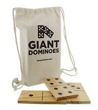 Clearance- Get Out!™ Giant Wooden Dominoes 28-Piece Jumbo Set