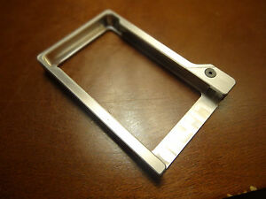 Mechanical Business Wallet Series 4 Minimalist Billet Aluminum Aluminium