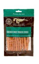Dog Treats From The Deli Dog, Chicken Sweet Potato Sticks 100g