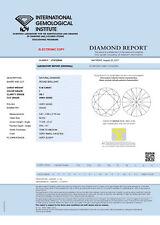 DIAMANT 0.39ct Brillant VS1 Top Crystal (I) IGI