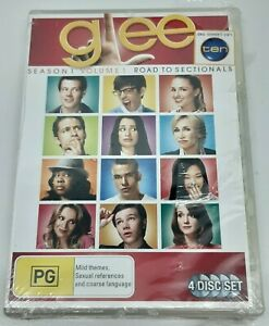 Glee - Road To Sectionals : Season 1 : Volume 1 DVD New/Sealed Region 4 2010