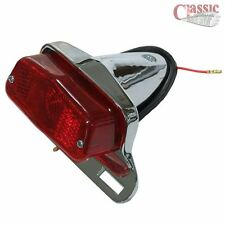 Chrome rear tail light ideal for custom special motorcycle builds
