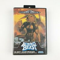 Altered Beast | Sega Mega Drive | Very Good Cond | PAL | Missing Manual