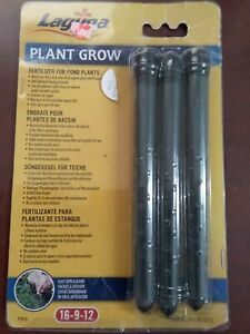 Hagan Laguna Plant Grow PT910 Fertilizer for Pond Plants 16-9-12  NIP
