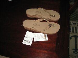 RAINBOW Women's Dark Brown Wedge Sandals or Pink Flat sandals, All Sizes, NWT