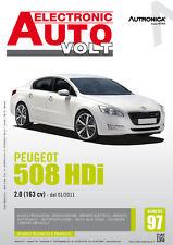 Manuale Diagnosi impianto elettrico ed elettronico auto - Peugeot 508 HDi 2.0