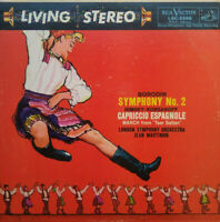 RCA LIVING STEREO LSC 2298 SHADED DOG 1S/2S BORODIN SYM #2 MARTINON TAS/HP EX+NM