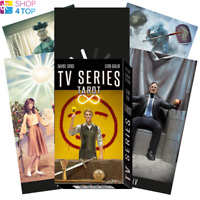TV SERIES TAROT KARTEN DECK DAVIDE CORSI ESOTERIC TELLING LO SCARABEO NEU