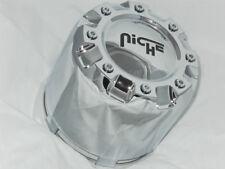 RARE NICHE ROXXY WHEEL RIM CENTER CAP 8 LUG SNAP IN CHROME 1001-17 S701-39
