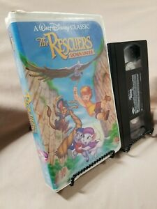 WALT DISNEY CLASSIC RARE BLACK DIAMOND THE RESCUERS DOWN UNDER VHS APRIL 30 1991