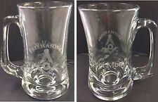 Laser Engraved Masonic Scandanavian 12 oz Sports Mug with saying on Back
