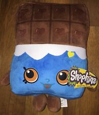 """SHOPKINS CHOCOLATE BAR SOFT TOY PLUSH WITH TAGS 25cm 10"""""""
