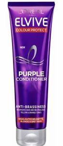 L'Oreal Elvive Colour Protect Anti-Brassiness Purple Conditioner Beautiful 150ml