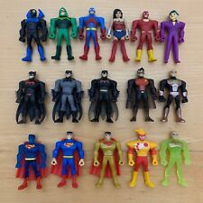New Justice League Action Mighty Minis Series 1 & 2 complete set of 16 in pkgs