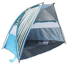 Portable Beach Tent Sun Shelter Outdoor Camping Picnic Cabana Shade Canopy Blue