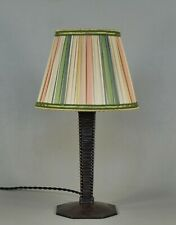 FRENCH 1930 ART DECO LAMP .. wrought iron .......... 1925 France