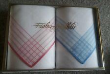 3 Damen Tücher Fisba Stoffels Taschentücher        xxk                      BS