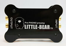 Little bear T9 acrylic case MM cart Phono Turntable RIAA Preamp preamplifier UK
