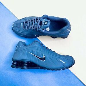 Nike Shox R4 GS Trainers Shoes Grey UK 5 EUR 38 US 5.5Y CU1721 001