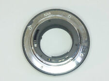 Vivitar TX mount for Vivitar TX lenses on Konica Autoreflex Cameras