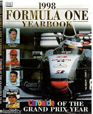 1998 FORMULA ONE YEARBOOK Chronicle Of The Grand Prix Year  MOTOR RACING