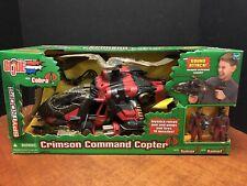 GI Joe Vs Cobra Crimson Command Copter Dela0703