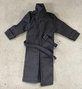PB-LTC2-BLK: 1/12 Black Wired Trench Coat for Mezco Marvel Legends medium body