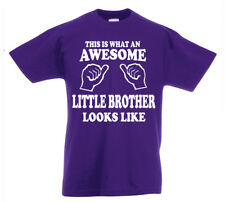 Genial Poco Brother Camiseta 3-13yrs Regalo Boys Cumpleaños Divertido Presente