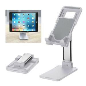 Open Box Cell Phone Stand Tablet Mount Fordable Desktop Holder Cradle Dock Mobil