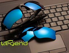 A17 Blue Mirror POLARIZED Replacement Legend Lenses For Oakley FLAK JACKET XLJ