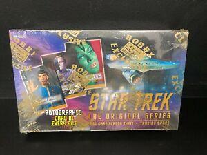 Star Trek the Original Series Season 3 Fleer Skybox Trading Cards Sealed Box