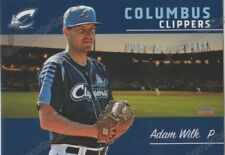 2018 Columbus Clippers Adam Wilk RC Rookie Cleveland Indians
