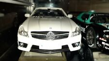 1/18 Mercedes Sl 63 AMG Convertible White