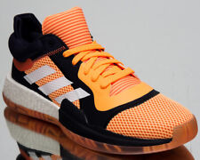 adidas Marquee Boost Low Vegas Men's Orange White Ink Basketball Sneakers Shoes