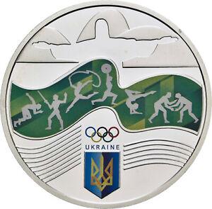 Savoca Coins Ukraine 10 Hrywen 2016 Olympiade Rio de Janeiro =BZB75894