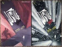 Justice Inc (1989 Dc Comics) Book #1 & #2. Both In Vf/Nm Condition.