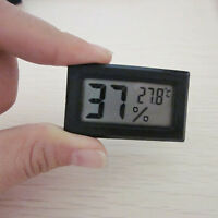 Neu Mini Digital LCD Indoor Temperatur Feuchtigkeit Thermometer Hygrometer