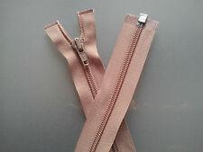 """Beige Zip Zipper Open End Aero Heavy Duty  59 cm 23 1/4"""""""