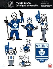 NHL TORONTO MAPLE LEAFS STICK PEOPLE FAMILY DECALS ~ FULL COLOR VINYL DECALS