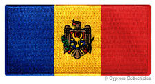 Moldova Flag embroidered iron-on Moldovan Patch Souvenir Emblem Republic Banner