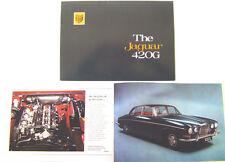Jaguar 420G Saloon 1969-70 Original UK Prestige Sales Brochure Mark X