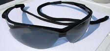 Nemesis - Safety Glasses w/smoked gray lens & retainer