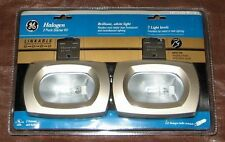 GE 15528 Halogen 2 Light Puck Linkable Starter Kit  - 2 Lights - 25 Watt Bulbs