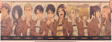Attack on Titan - Shingeki no Kyojin - Character List Anime Poster Manga Mikasa