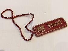 Piaget swing tag