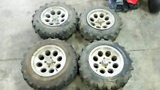 15 Honda SXS 500 SXS500 M Pioneer wheels rims and tires front and rear set