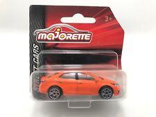 Majorette Toyota Corolla Altis Orange diecast Car