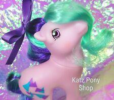 HQG1C Custom Vintage G1 Pretty Mane MLP Style Pony  🧡 PRISM 🧡 Artistry Girl!