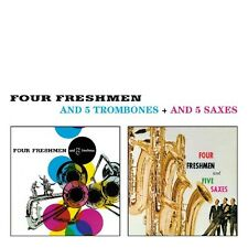 The Four Freshmen - And 5 Trombones / and 5 Saxes [New CD] Bonus Tracks, Rmst